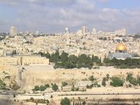 Jerusalem from Mt. of Olives LR