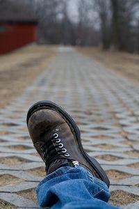 I'm walkin'.