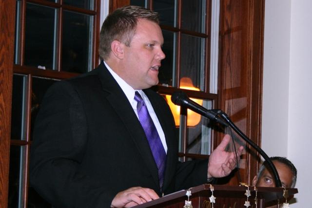 2009 Awards Night Tony Bokhoven LR