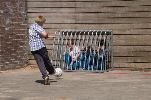 Schoolyard bully.