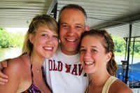 Tom & girls at the lake 0709