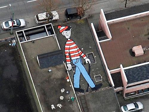 Where's Waldo.