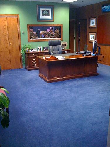 The boss' office.